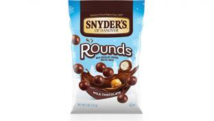 Snyder's of Hanover Milk Chocolate Covered Pretzel Rounds