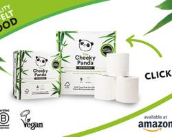 The Cheeky Panda plastic-free toilet roll range