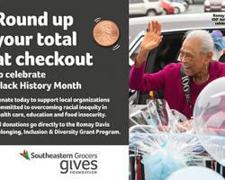 Southeastern Grocers Marks Black History Month With Donations Romay Davis Belonging, Inclusion and Diversity Grant Program