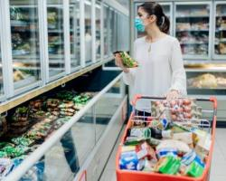 Frozen Food Aisle Accelerates Ahead of Other Departments