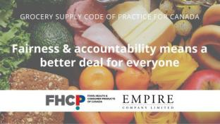 'Grocery Supply Code of Practice' to Improve Retailer-Supplier Relations
