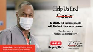 H-E-B Aids in Making Cancer History