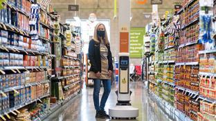 Robots Now Traversing Save Mart's Aisles Simbe Robotics Tally