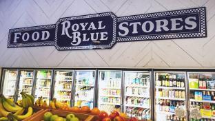 Royal Blue Grocery Rebranding in Dallas