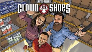 Hannaford Offering Limited-Edition Beers Celebrating Associates Clown Shoes Circle of Heroes Hazy IPA