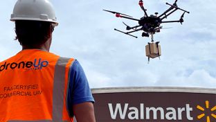 Walmart Invests in Drone Company DroneUp