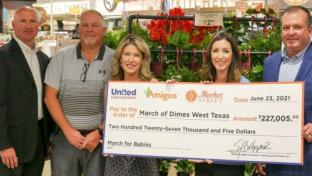 The United Family Raises $227K for March of Dimes