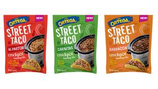 Ortega Street Taco Crockpot Seasoning Mixes