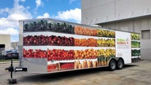 Hunger Relief Accelerates in South Florida With Grocery Trailer
