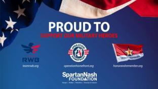 SpartanNash Raises $330K for Veteran Service Organizations