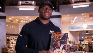 Heinen's Kicks Off New Cereal With Pro Bowler
