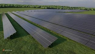 Construction Begins on Huge Albertsons Cos. Solar Project Dynamic Energy Soltage Maine