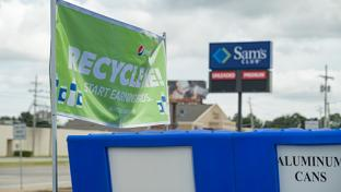 Walmart, Sam's Club Pilot On-Site Recycling Centers