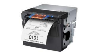 a close up of a printer