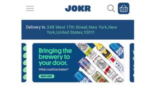 Jokr Now Delivering Alcohol on Demand