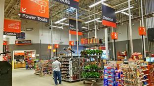 The Home Depot Joins Walmart GoLocal